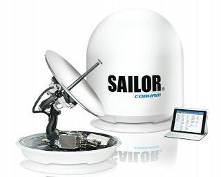спутниковый интернет в море