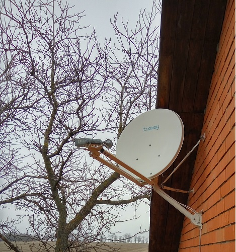 спутниковый интернет в деревню цена